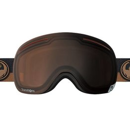 Dragon Alliance Dragon Alliance X1 Goggles 2017 Flux Brown Transitions Amber