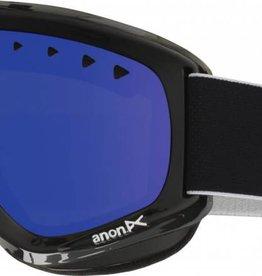 Anon Anon Helix Goggles - Black / Blue Solex Lens