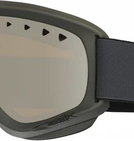 Anon Anon Helix Goggles Paint Mirror - Stealth / Silver - Spare Amber Lens