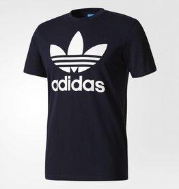 Adidas Adidas Orig Trefoil T-Shirt - Navy/Whte -