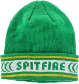 Spitfire Wheels Spitfire Classic Cuff Beanie - Kelly Green/Yellow