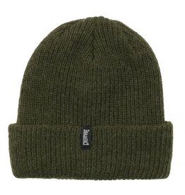 Creature Creature Asspen Long Shoreman Beanie - Heather Olive