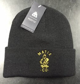 Matix Matix Clothing Co. Beanie  - Black