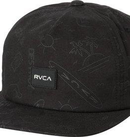 RVCA RVCA Sea & Destroy Snapback Hat - Black