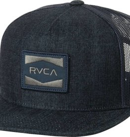 RVCA RVCA Cedars Trucker Hat - Blue Denim