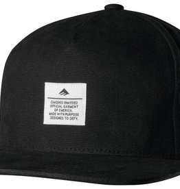 Emerica Emerica Standard Issue Snapback Hat - Black