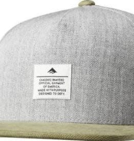 Emerica Emerica Standard Issue Snapback Hat - Grey/Green