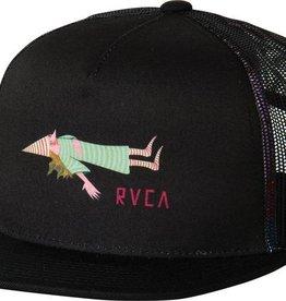 RVCA RVCA Templeton Trucker Hat - Pirate Black