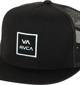 RVCA RVCA VA All The Way Boy's Trucker Hat - Black