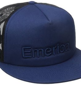 Emerica Emerica Pure Trucker Hat - Blue/Black