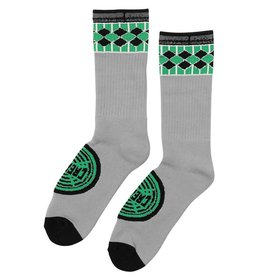 Creature Creature Skateboards Winchester Tall Crew Socks - Grey 9-11 ( 2 Pairs )
