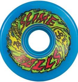 Santa Cruz Skateboards Santa Cruz - Slime Balls Wheels Neon Blue 66mm 78a (set of 4)