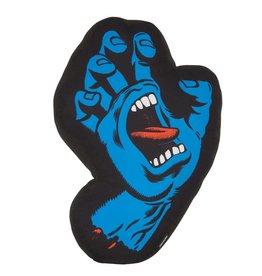 Santa Cruz Skateboards Santa Cruz Screaming Hand Unisex Pillow - Black