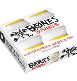 Bones Bones Hardcore Bushings White Medium (2 Trucks)
