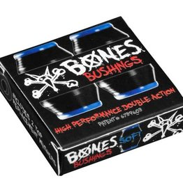 Bones Bones Hardcore Bushings Black Soft (2 Trucks)