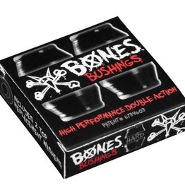 Bones Bones Hardcore Bushings Black Hard (2 Trucks)