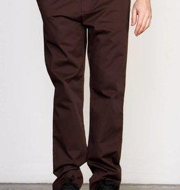RVCA RVCA The Dayshift II Chinos Pants Slim - Dark Chocolate