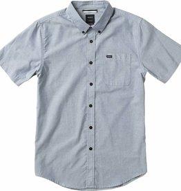 RVCA RVCA That'll Do Men's Button Down Slim Shirt SS - Pavement