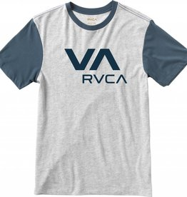 RVCA RVCA VA T-Shirt Athletic - Heather/Midnight