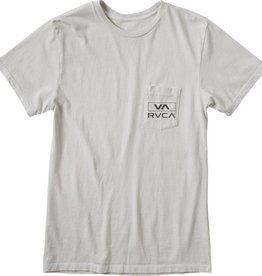 RVCA RVCA Rec VA Men's T-Shirt - Silver Bleach