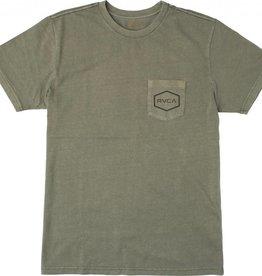 RVCA RVCA Balance Hexed Pocket T-Shirt - Fatigue