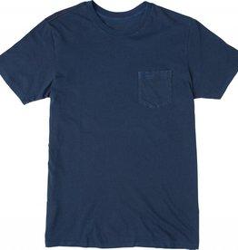 RVCA RVCA PTC 2 Pigment Pocket T-Shirt - Neptune Blue
