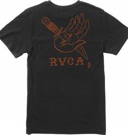 RVCA RVCA Dagger Hand Men's T-Shirt - Black