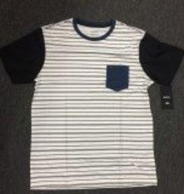 RVCA RVCA Change Up Men's T-Shirt - White/Navy