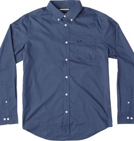 RVCA RVCA That'll Do Oxford LS Button Up Shirt - Dark Denim