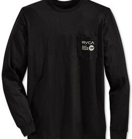 RVCA RVCA ANP Pocket L/S T-Shirt - Black