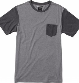 RVCA RVCA Change Up Knit Pocket T-Shirt - Grey Noise