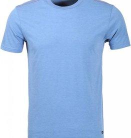 RVCA RVCA Label Vintage Dye T-Shirt  - Aruba Blue