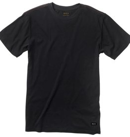 RVCA RVCA Label Vintage Wash T-Shirt  - Black
