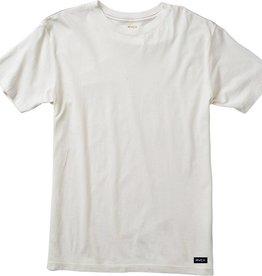 RVCA RVCA Label Vintage Wash T-Shirt  - Antique White