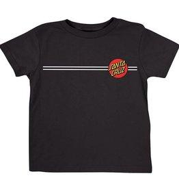 Santa Cruz Skateboards Santa Cruz Classic Dot Toddler T-Shirt - Black