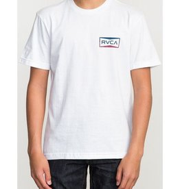 RVCA RVCA Rereds T-Shirt Boy's - Antique White