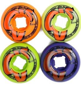 OJ Wheels OJ Wheels Logo Family Wheels Mix Up 54mm 99a (set of 4)
