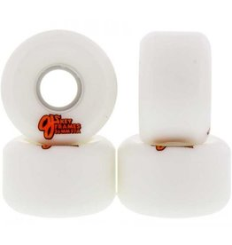 OJ Wheels OJ Wheels Plain Jane Keyframe Wheels White 54mm 87a (Set of 4)