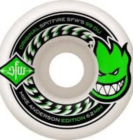 Spitfire Wheels Spitfire Wheels Anderson SFW 2 - 52mm (Set of 4)