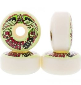 OJ Wheels OJ Wheels Power Riders White 63mm 101a (set of 4)