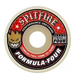 Spitfire Wheels Spitfire Wheels - 54mm 101a - Formula Four Conical Full - Red