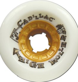 Cadillac Cadillac High Roller Wheels 70mm 79a - White (set of 4)