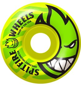 Spitfire Wheels Spitfire Bighead Electrofires Ylw Wheels 53mm 99a (set of 4)