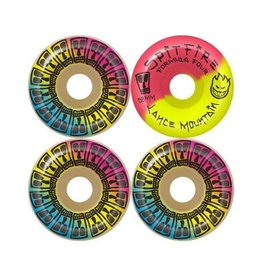 Spitfire Wheels Spitfire Formula Four Lance Mountain Lifer Wheels 58mm 99a (Set of 4)