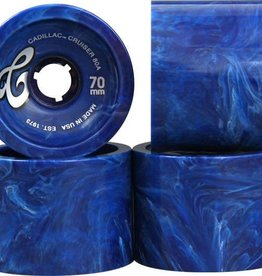 Cadillac Cadillac Cruiser Wheels 70mm 80a - Blue Marble (set of 4)