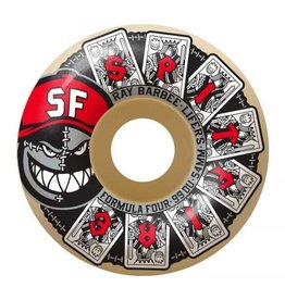 Spitfire Wheels Spitfire Ray Barbee Lifers Formula Four Classic Wheels 56mm 99a (Set of 4)