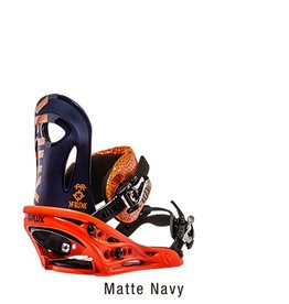Flux Flux PR Snowboard Bindings 2017 - Navy