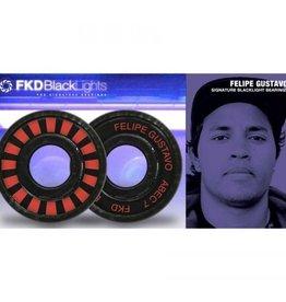 FDK FKD Hardware - Felipe Gustavo BlackLight Pro ABEC 7 Bearings (8 pack)