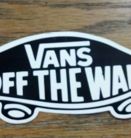 "Vans Vans ""Off the Wall"" Sticker"