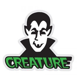 "Creature Creature Vamp 3"" Logo Sticker - Green"